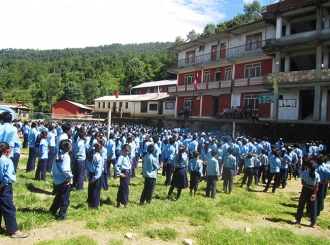 Volunteer in School